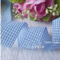 Weave ribbon, Light blue, 2.5cm x 2m, 1 piece, (SD196)